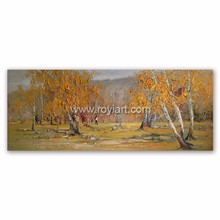 High Quality Oil Painting Autumn Landscape for Living Room Decor