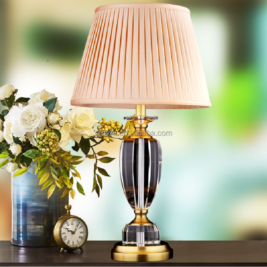 Crystal Table Lamp Modern Beauty Eyeshield Desk Lamp For Home Bedroom Living Room Decoration Bedside Lamp wedding gifts