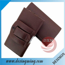 Universal Wallet Horizontal Holster with Belt Clip Leather Case for iPhone 5G 5S 4G 4S