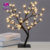 Crystal Cherry Blossom Tree Light 48 LED Christmas Fairy Wedding Decoration Indoor Table Lamp