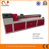 Brand New Horizontal Top Level Paper Tube Cutter With Rotary Knife, CE Approved