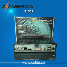 Nagra3 Hd Receiver Azamerica S1001 With SKS IKS Account Full Hd 1080p For Sourth America