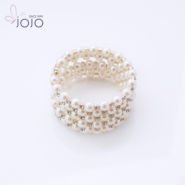 Fashion luxury charm bangle plastic bead bracelet with crystal