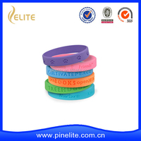 custom cheap dog paw silicone wristband