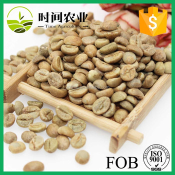 Bulk robusta raw green coffee beans
