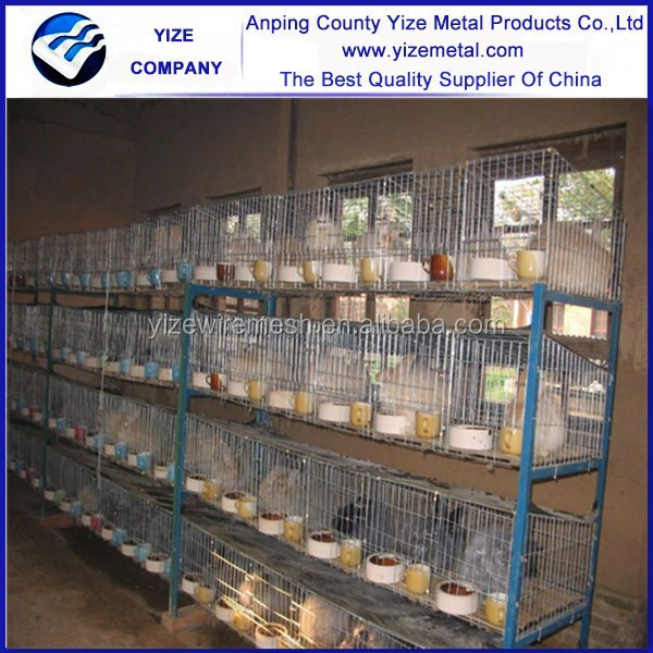 China factory wholesale used new metal rabbit cages for sale
