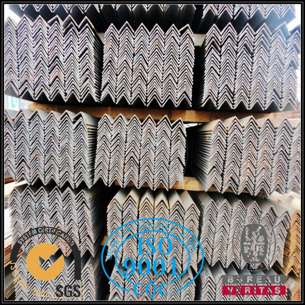 Hot rolled steel angle iron with holes from well experienced supplier