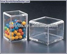 square acrylic candy box , acrylic sweet storage box A292