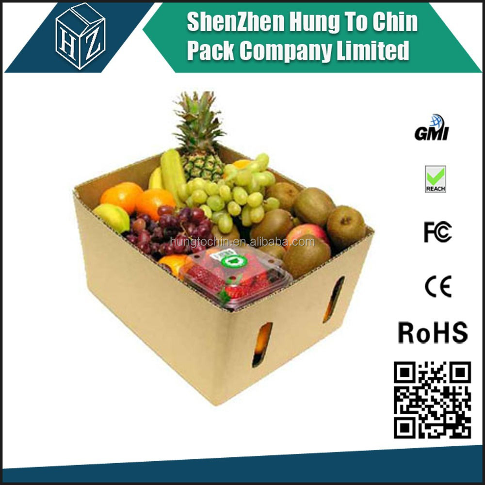 vegetable carriage purposes packaging box custom