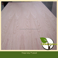 Red/White Oak Plywood used for Furniture Materials