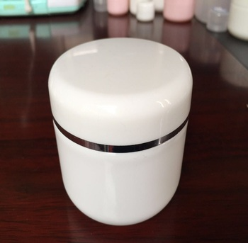 PET Face Mask Colored 50/250ml cosmetics pet jars in china