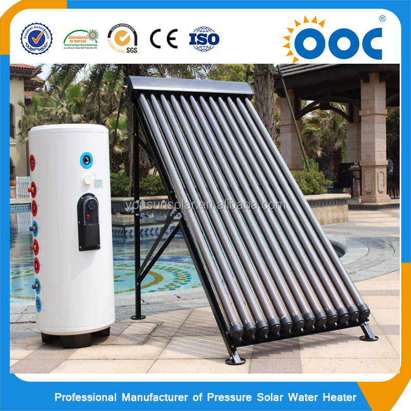 Excellent Quality 100 To 1000L Closed Loop Sun Home Split Solar Water Heater For Germany