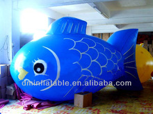 cheap inflatable fish model for advertising YP-42
