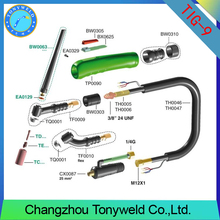 wp9 gas welding torch air cooled tig accessories