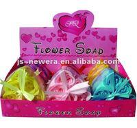 Bath Flower Paper Soap set