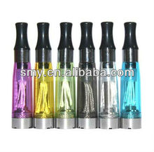Hot sale: CE4 V2 Tank clearomizer CE4 Clearomizer CE4 clear atomizer with black drip tips