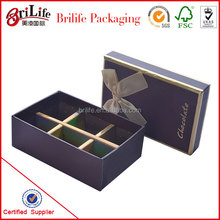 High Quality Paper box with compartments cardboard Wholesale In Shanghai