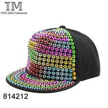 Fashion colorful ball decoration basketball custom 5 panel snapback hiphop sport cap and hat 814212