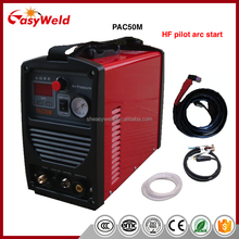 HF Inverter Small portable CUT-50 CE Air Plasma cutting machine with pilot arc