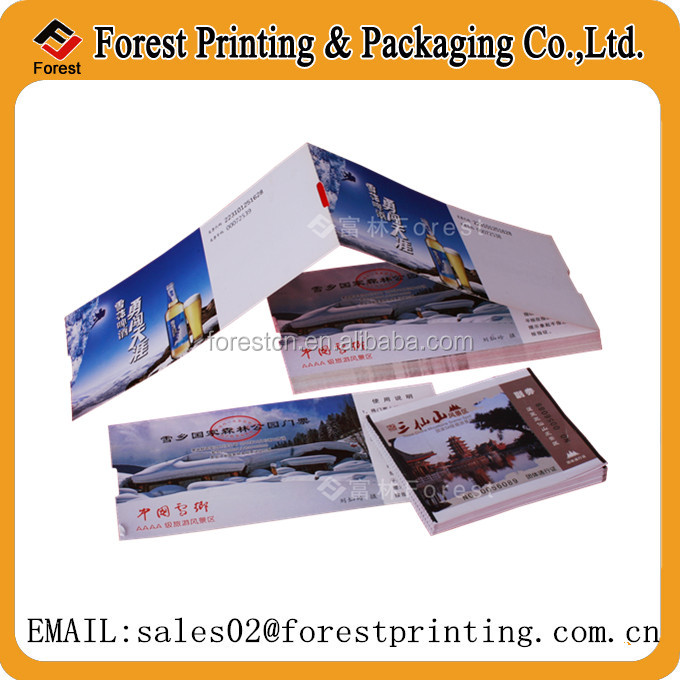 concert ticket paper printing,thermal paper ticket