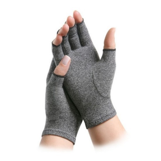 Fashionable Design Copper Infused Compression Hands Arthritis Gloves