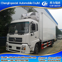 Super quality new arrival refrigerated freeze truck