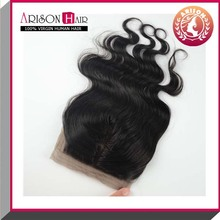 American hot selling wholesale 100% indian hair lace closure brazilian hair weave bundles cheap price hair accessory online