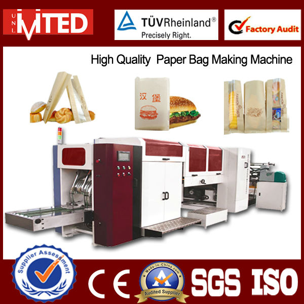 Full Automatic Paper Bag Making Machine Prices