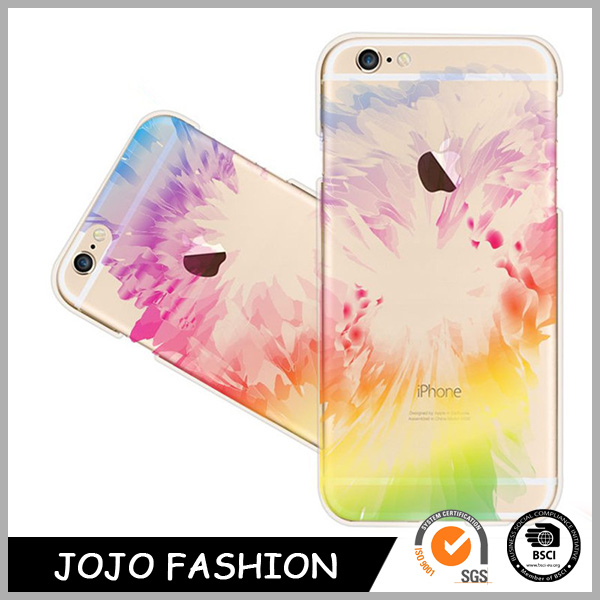 High quality charm colorful flower shape cheap mobile phone cases