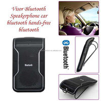 Wireless Stereo Hand free Bluetooth Speaker phone Bluetooth Car Kit Handsfree Speakerphone For Iphone Samsung Smartphone