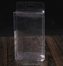 Printing pet clear plastic folding packaging boxes