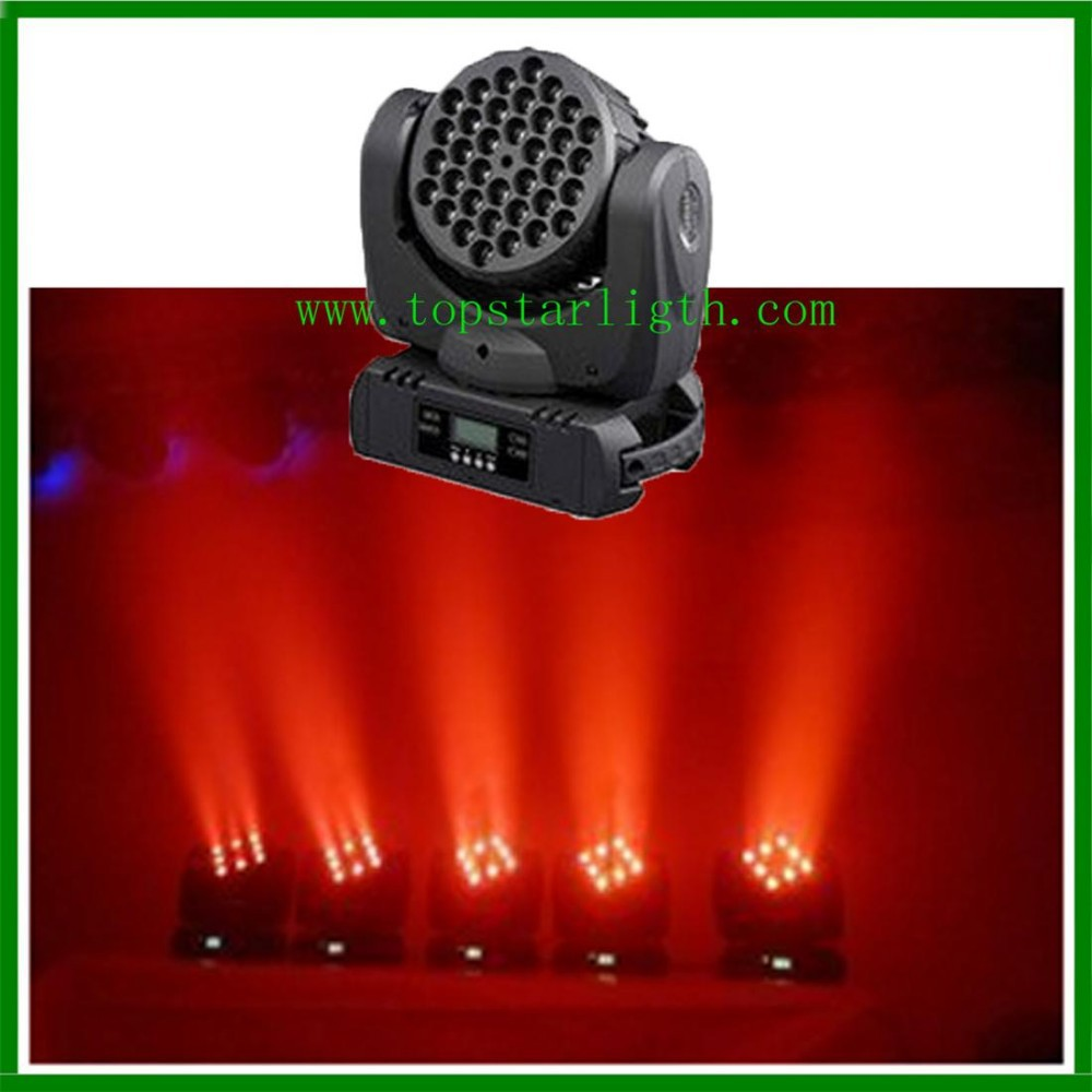 cheap goods from china professional disco light 36*<strong>3W</strong> RGBW wash <strong>led</strong> beam moving head light