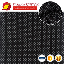 Latest design factory supply custom knitting n/r foiled ponti roma fabric