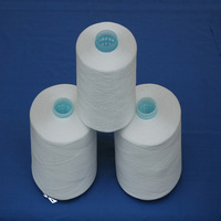 ring spun /TFO technics polyester yarn for sewing in raw white