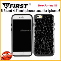 Instock OEM your Original Brand TPU Silicone PC case for iphone 6