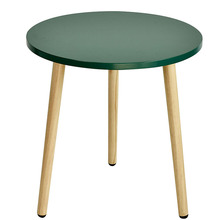 Modern wooden small cheap white round tea coffee mdf dinning <strong>table</strong>