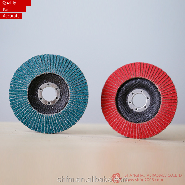 "T27 4.5"" VSM flap disc for inox Germany raw material"