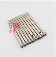 10pcs diamond coated tool drill bit hole saw glass tile marble ceramic 4mm