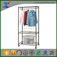 SUREALONG Home Organization Chrome metal Wire Shelving Unites