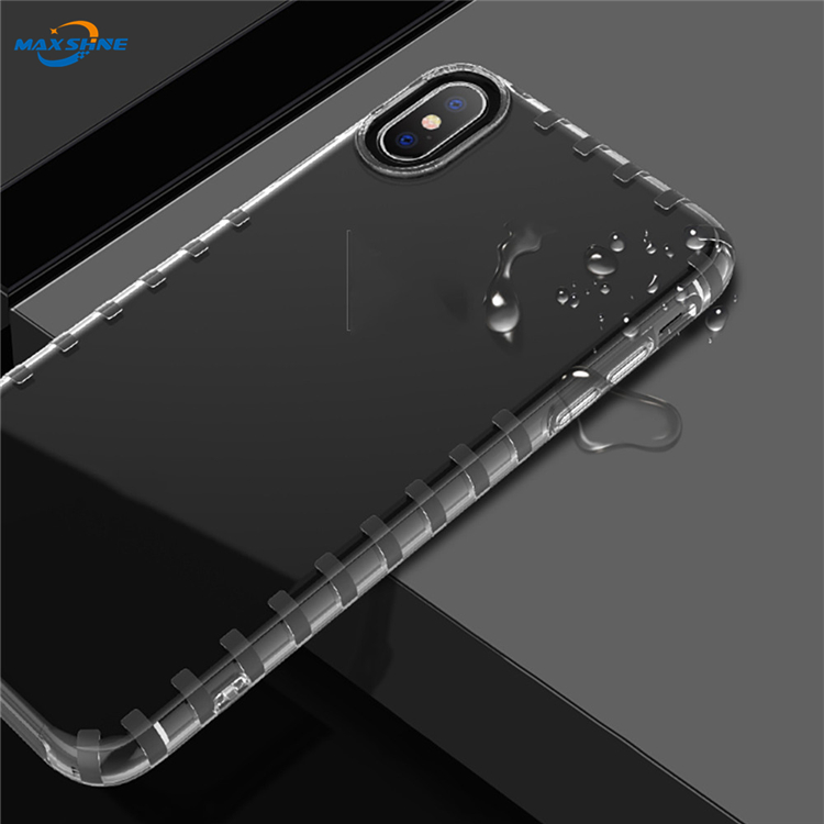 Maxshine Electroplate Tpu Case For Samsung A9 2018 , Phone Cases Transparent For Samsung S10 Ultra Slim Case