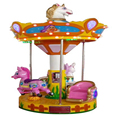 High quality amusement park carousel funfair carousel merry go round