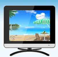 Second Used TV Panel 15inch LCD TV With USB Video Play Function