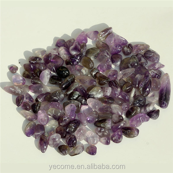Natural gemstones rough stone amethyst stone for decoration