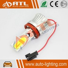 High Quality E92/H8-20W COB, W/B/R/Y/G available,resistor CANBUS led side markers for bmw with m logo