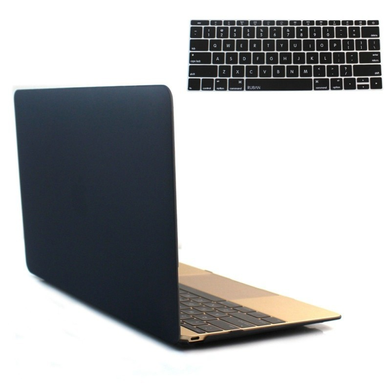 Smart Rubberized Hard Case,Cover For Apple Macbook Pro Series With Keyboard Cover