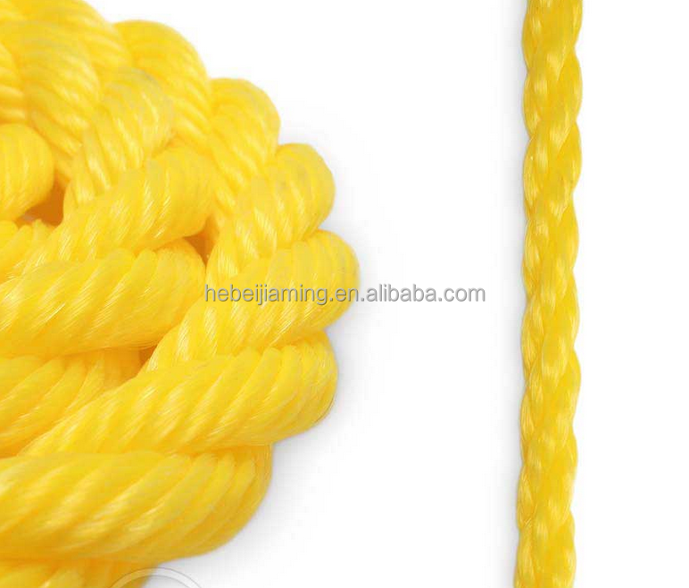 shock absorption 18mm twisted commercial plastic fishing rope