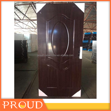 Wooden single main door design American steel door