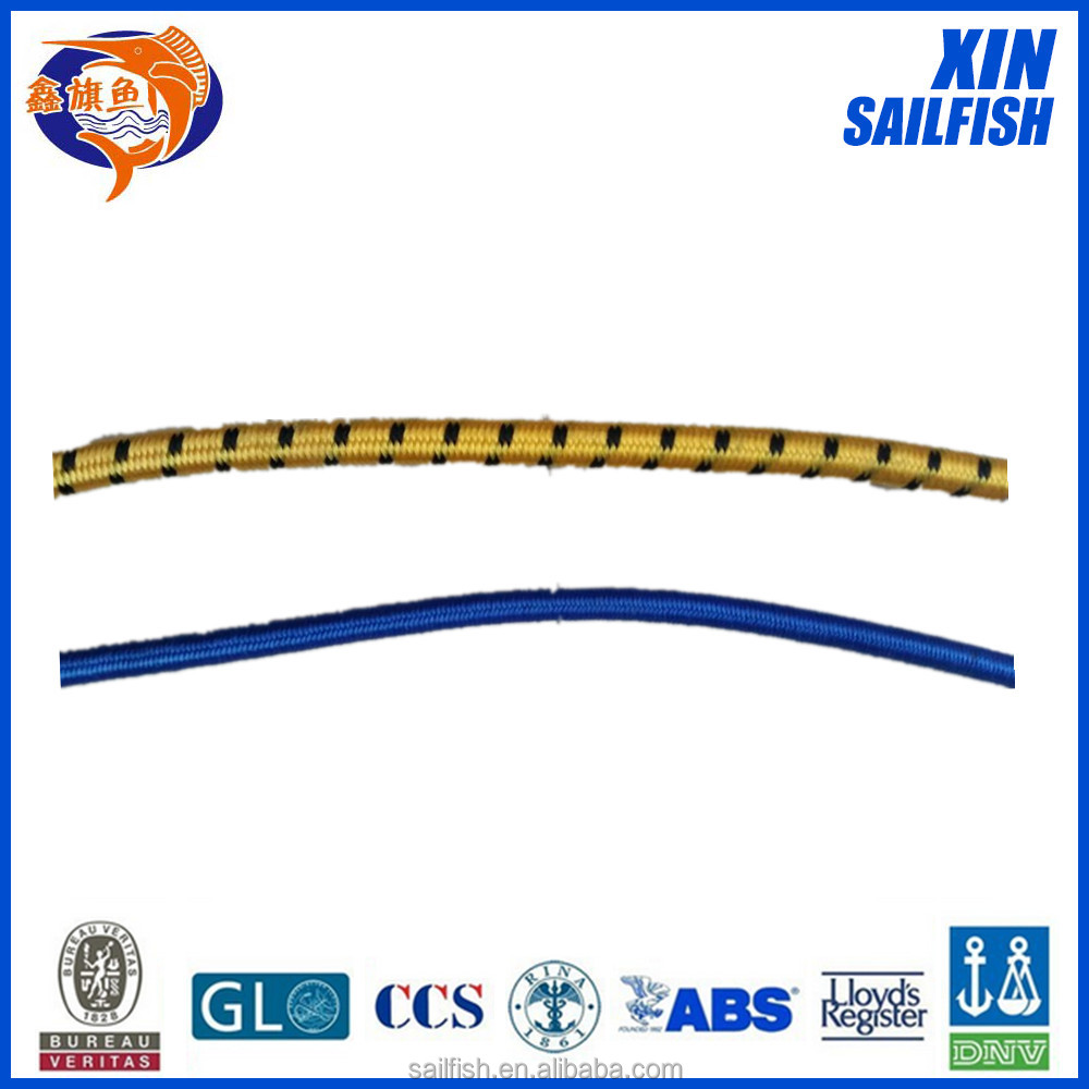 10mm thickness 3.5 elongation rate elastic bungee cords