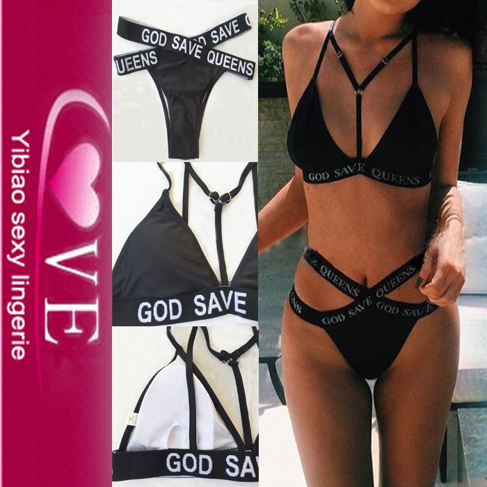 Cheap XXX 2017 Fashion Swimwear Strappy Sexy School Girl Bikini