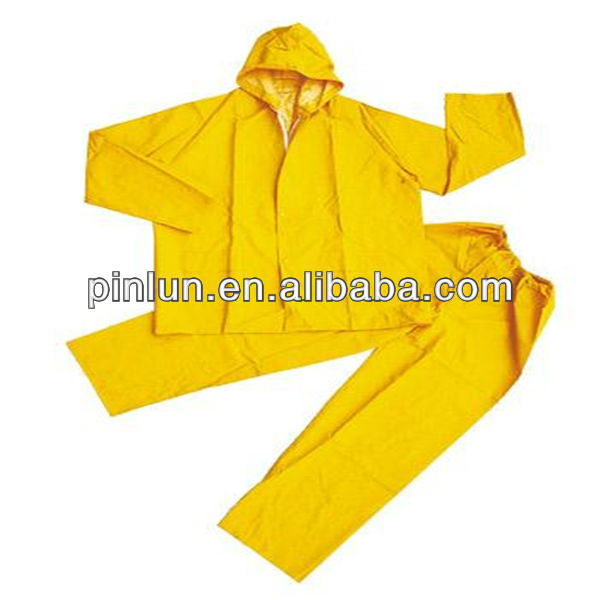 waterproof pvc polyester for motorbike raincoat fabric